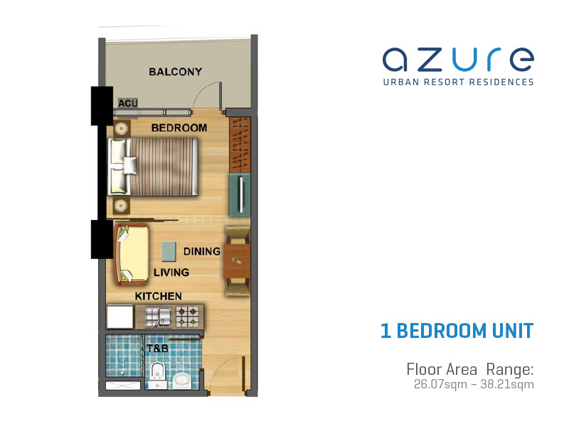 Residential Property For Sale At Azure Urban Resort Residences