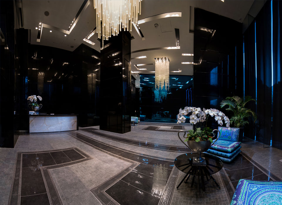 real estate philippines milano residences lobby