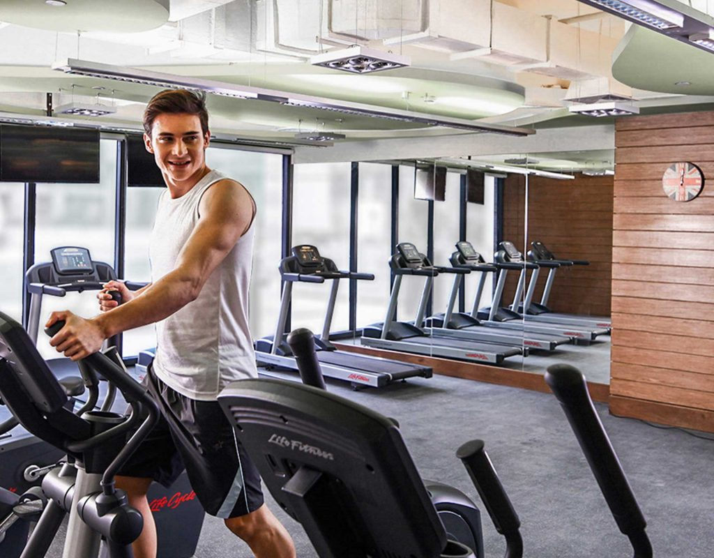 real estate philippines knightsbridge residences gym