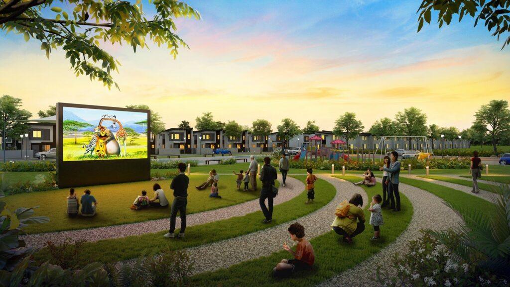 open cinema area - phirst park