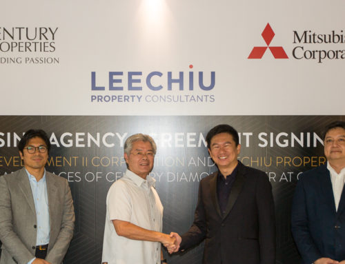 Century Properties Group Signs Leasing Agreement with Leechiu Property Consultants for Century Diamond Tower in Makati