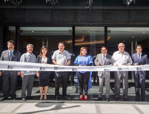 Century Properties Group and Asian Carmakers Corporation open BGC's newest green office building. PEZA-accredited Asian Century Center 75-percent leased