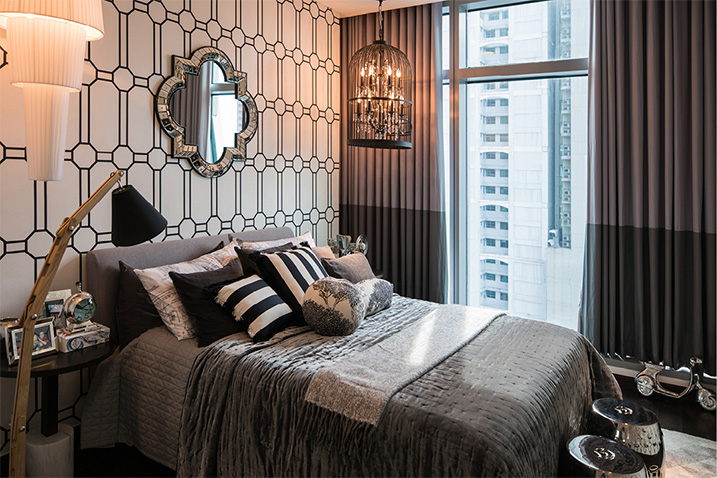 trump tower sample bedroom