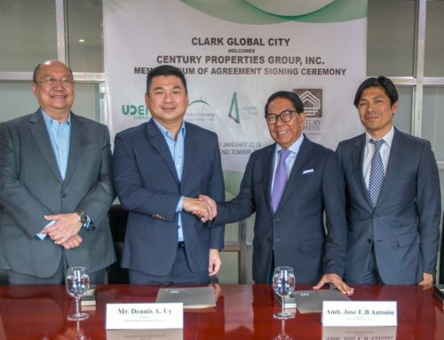 Clark Global City Welcomes Century Properties Group