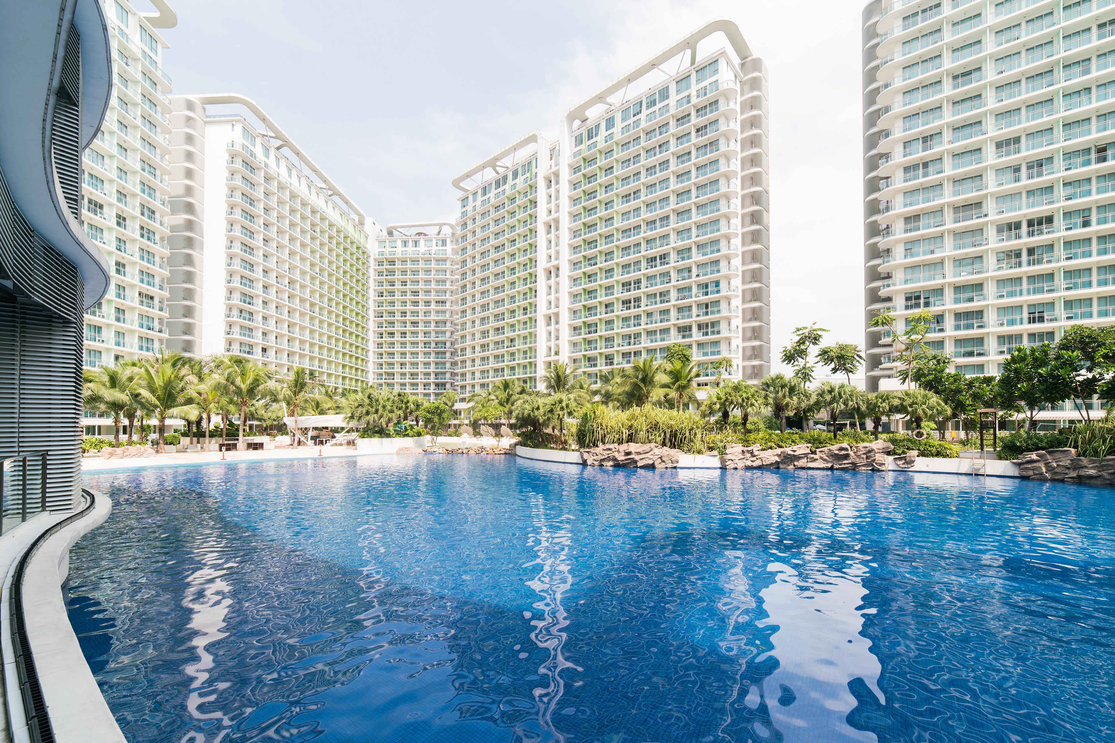 Wave Pool at Azure Urban Resort Residences