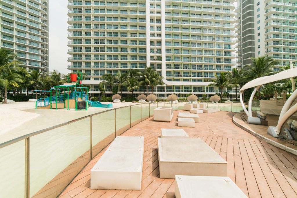 beachside playground at the residences at commonwealth by century