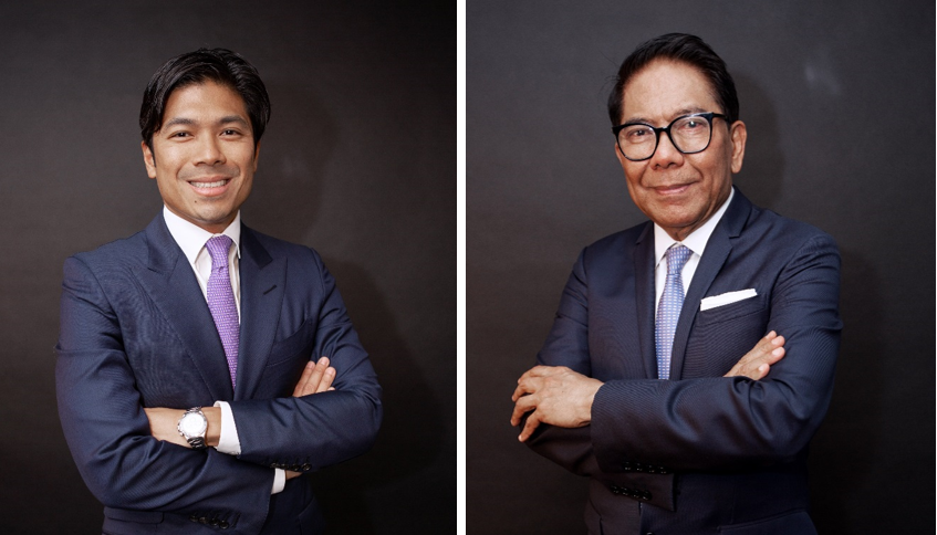 President and CEO of CPG, Marco R. Antonio and CPG Executive Chairman Jose E.B. Antonio