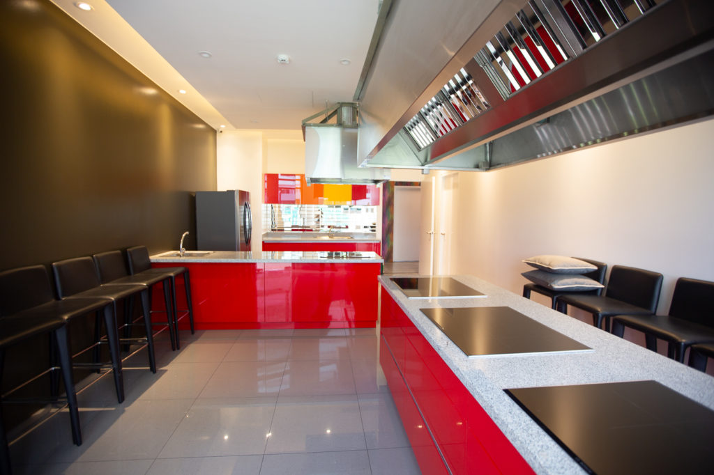 Show Kitchen at The Residences at Commonwealth by Century