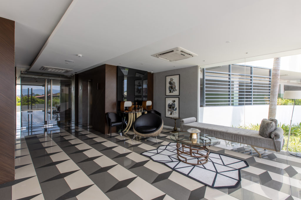 The Lobby at the Residences at Commonwealth by Century