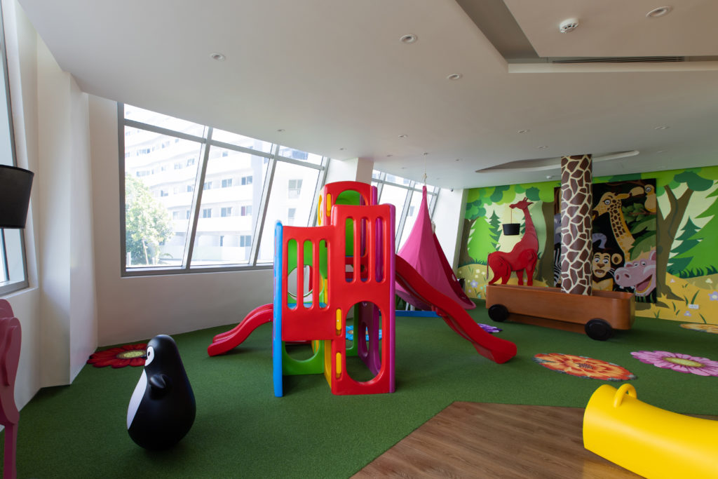 Creche And Kindergarten at the residences at commonwealth by century
