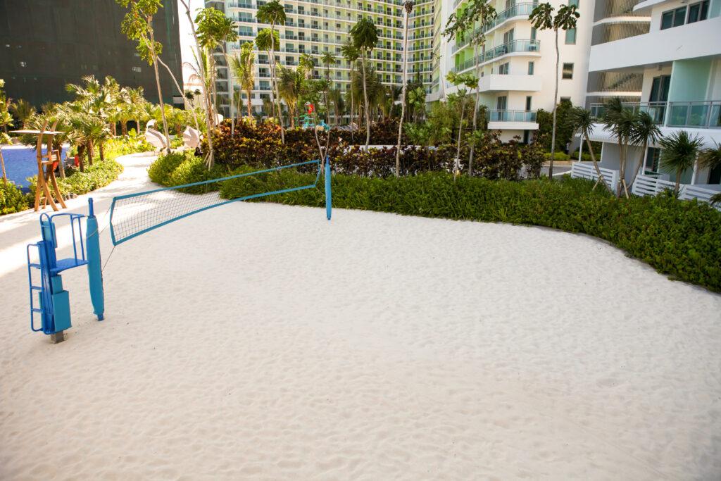 azure beach volleyball court