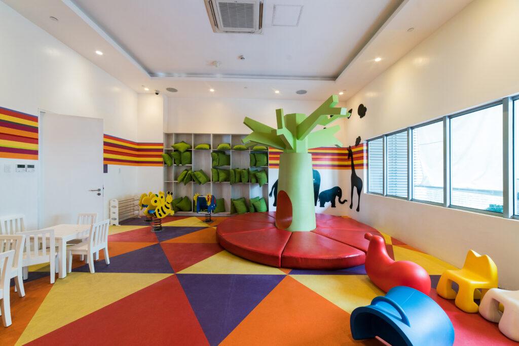 azure children's playground