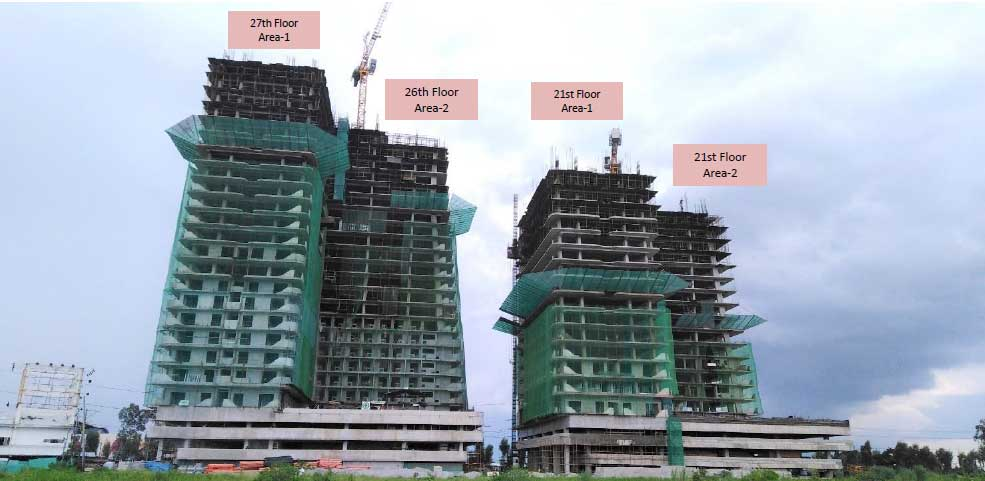 Monaco and Bali Towers as of July 9, 2019