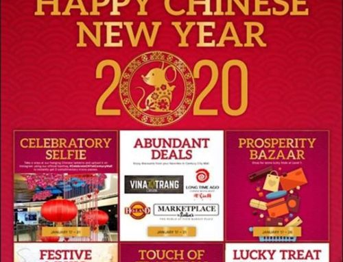 Chinese New Year deals and treats at Century City Mall