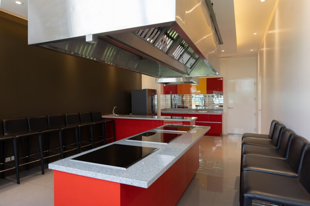 the residences at commonwealth show kitchen