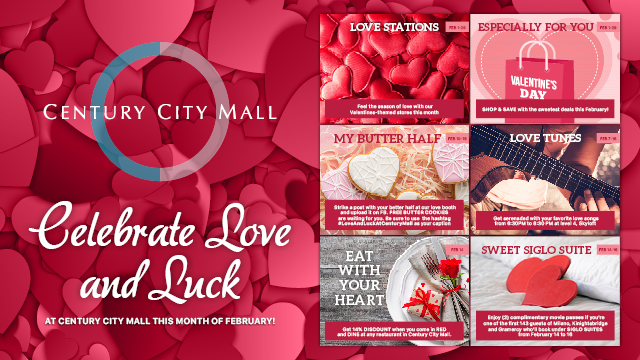 Valentines Day at Century City Mall