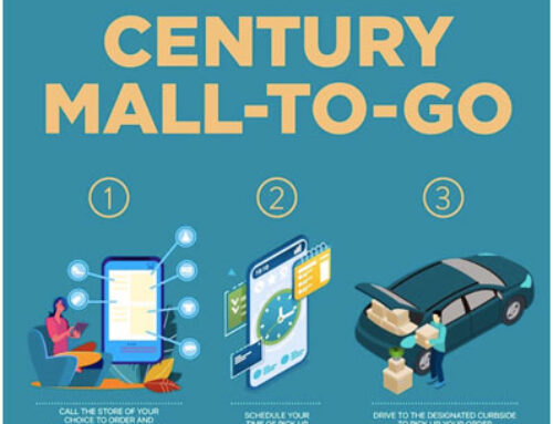 Safe and cashless shopping with the Century Mall-to-Go