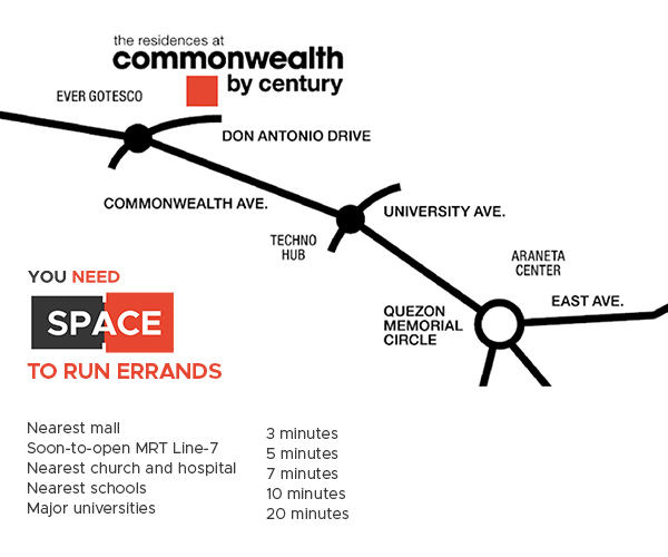 You Need Space to Run Errands - Commonwealth by Century