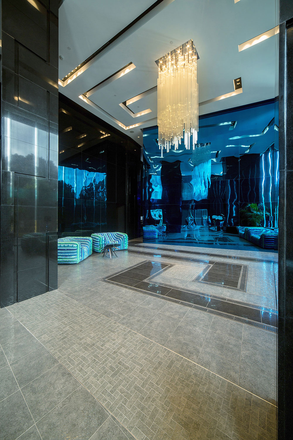 The Grand Lobby at The Milano Residences